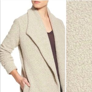 JAMES PERSE boucle open front sweater blazer